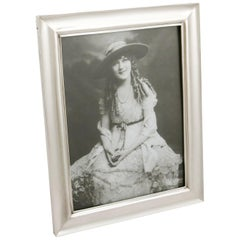 1916 Antique George V Sterling Silver Photograph Frame
