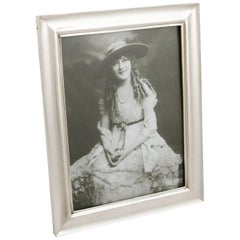 1916 Antique Sterling Silver Photograph Frame