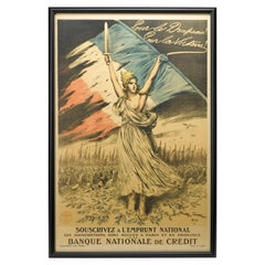 1917 WWI French Loan Poster by Georges Scott