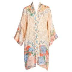 1920 - 1930s Pastel Japanese Kimono
