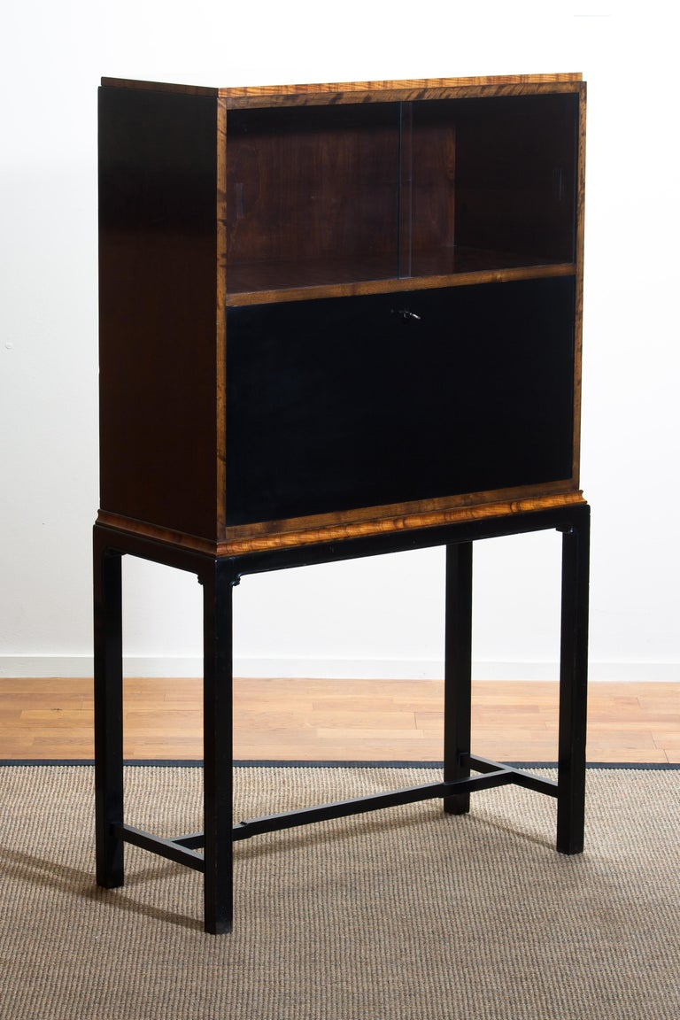 1920, Art Deco Secretaire/High Boy by Axel Einar Hjorth for Nordiska Kompaniet For Sale 6