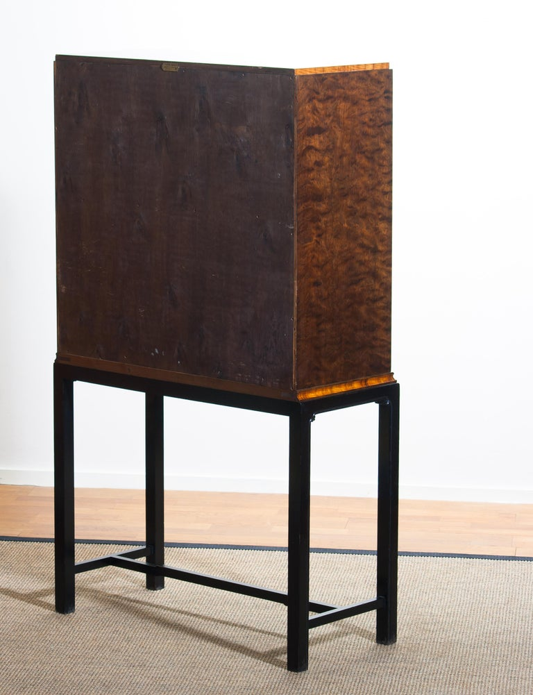 1920, Art Deco Secretaire/High Boy by Axel Einar Hjorth for Nordiska Kompaniet For Sale 11