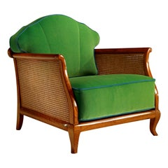 1920 Green Armchair