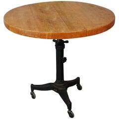 1920 Industrial Adjustable Height Table