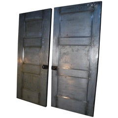 1920 Paneled Steel Industrial Doors