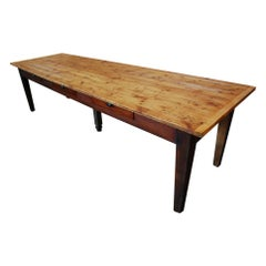 1920 Quebec convent Dining Table