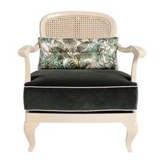1920 White Armchair