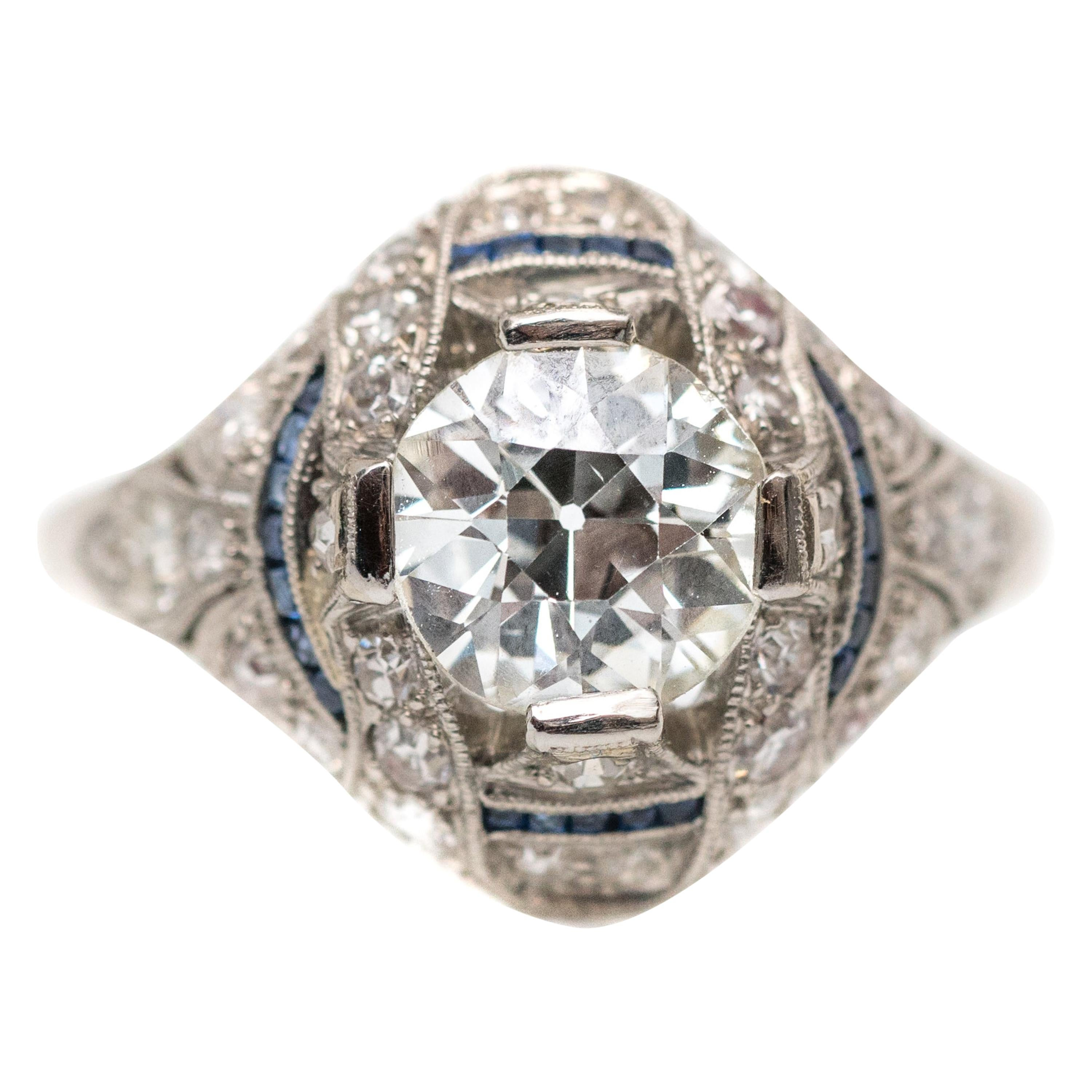 7551d98d4 1920s Engagement Rings - 656 For Sale at 1stdibs