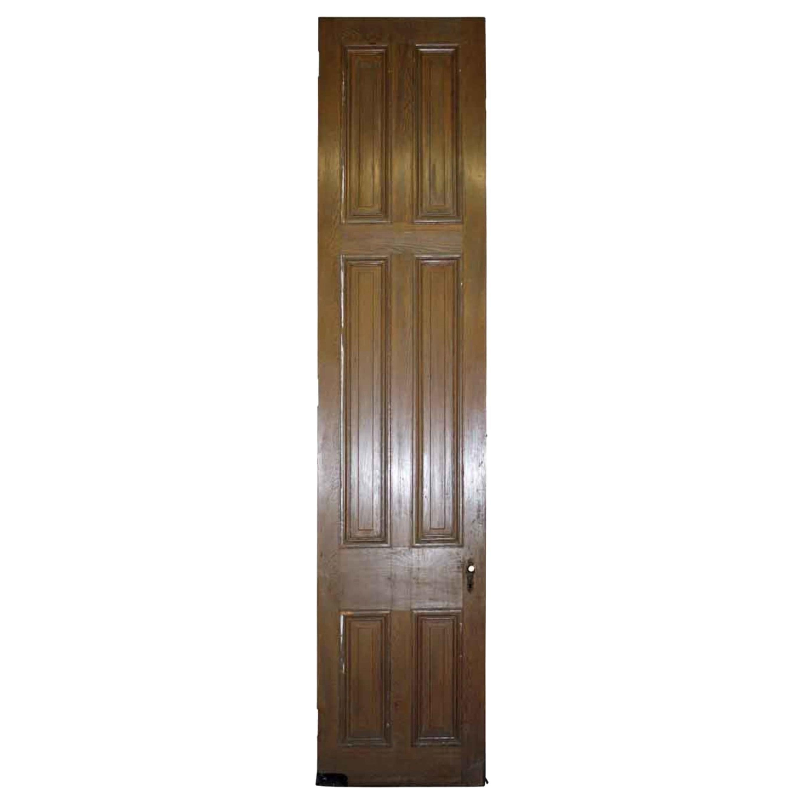 1920s Antique 6-Panel Wood Passage Door