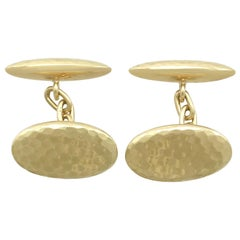 1920s Antique Cufflinks in Yellow Gold