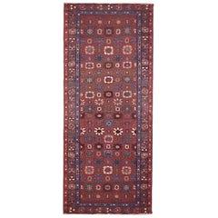 1920s Antique Persian Heriz Oriental Rug, in Runner size