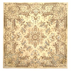1920s Antique Persian Kerman Oriental Rug