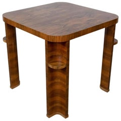 1920s Art Deco Rosewood Game Table