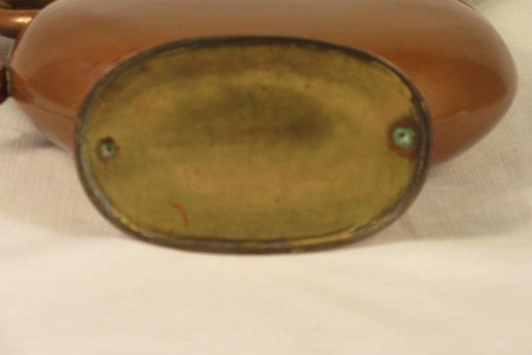 1920s Art Nouveau Copper Pitcher For Sale 6