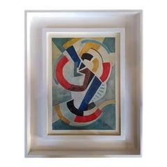 1920s Astonishing Russian Futurist Painting