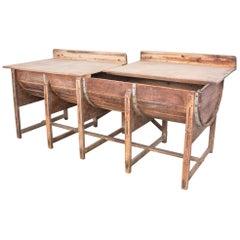 1920s Belgian Bakery Table