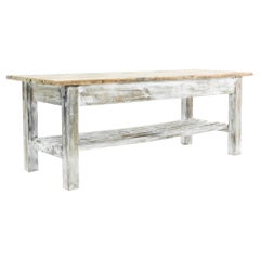 1920s Belgian Country Patinated Table