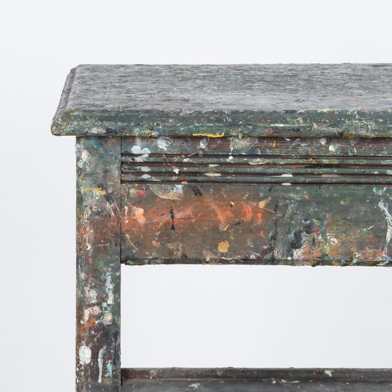 1920s Belgian Painter's Table 1
