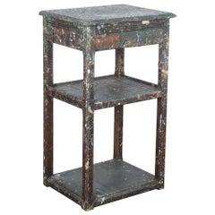 1920s Belgian Painter's Table