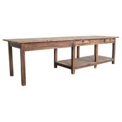 1920s Belgian Work Table