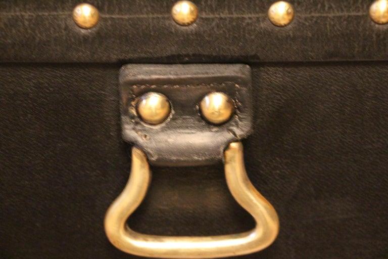 1920s Black Louis Vuitton Motoring Trunk For Sale 5