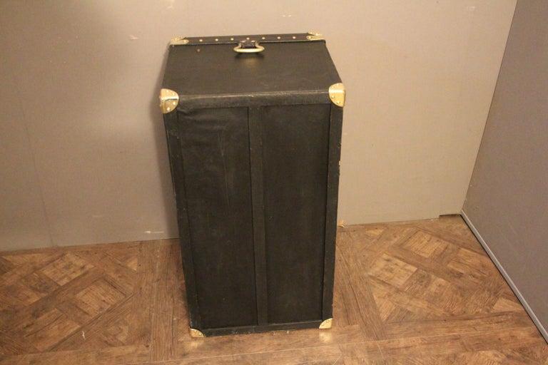 1920s Black Louis Vuitton Motoring Trunk For Sale 9