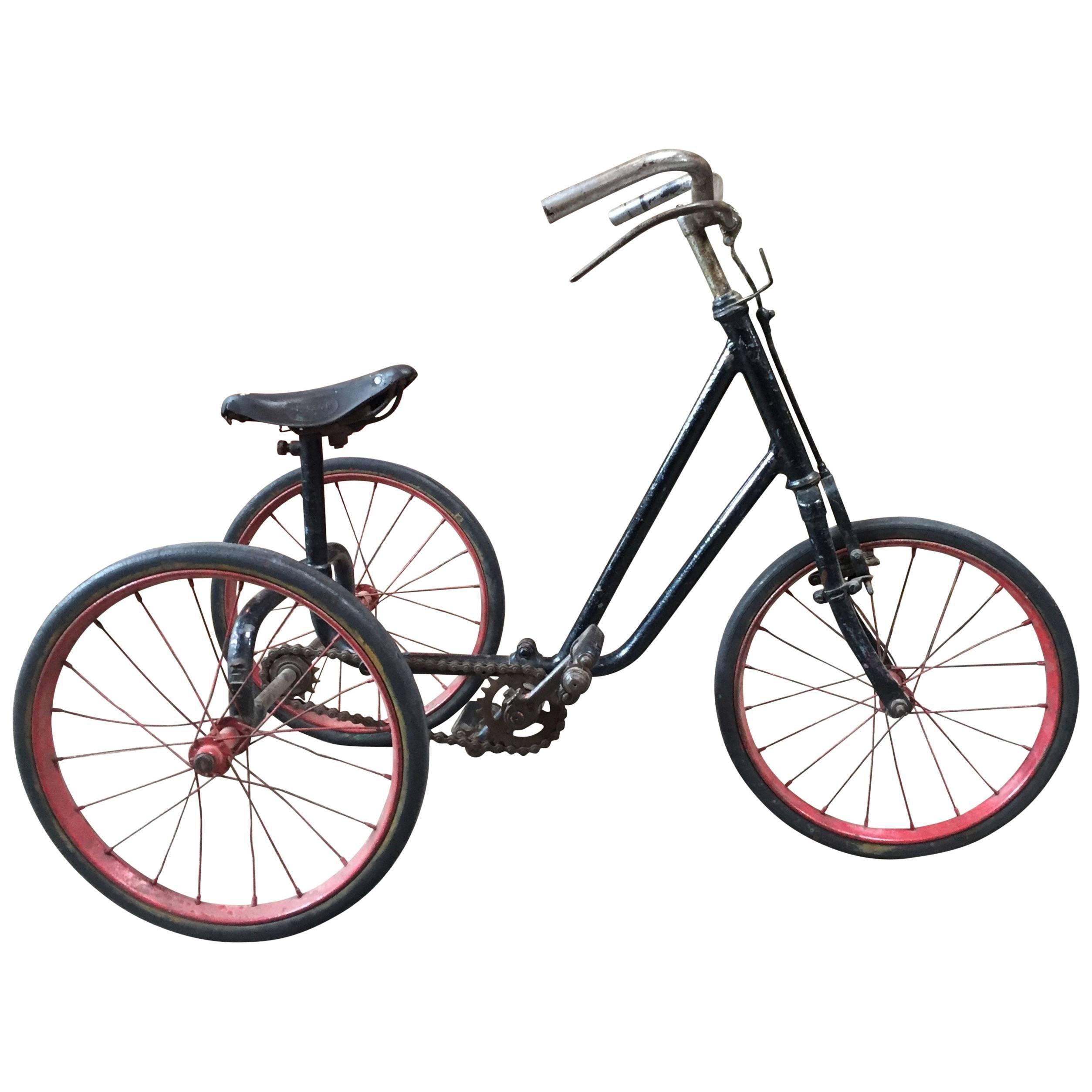 1920s British Dunlop Tricycle Bike