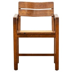 1920s Brown Beech Single Chair by Erich Dieckmann 'e'