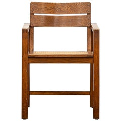 1920s Brown Beech Single Chair by Erich Dieckmann 'f'
