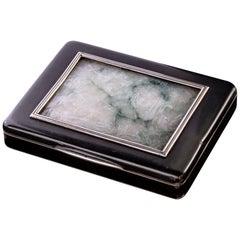 1920s Cartier, London Jade Box