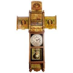 1920s Cigar Advertising Clock