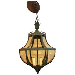 1920s Copper Lantern