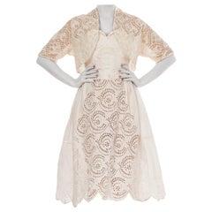1920s Cotton Dress