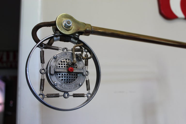 1920s Double Button Carbon Ring Microphone For Sale 4