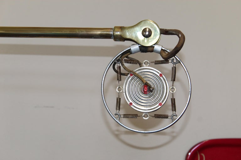 1920s Double Button Carbon Ring Microphone For Sale 9