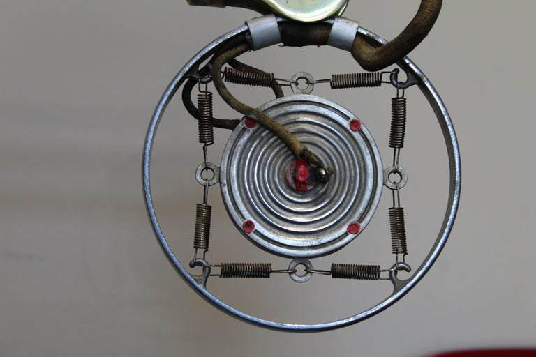 1920s Double Button Carbon Ring Microphone For Sale 10