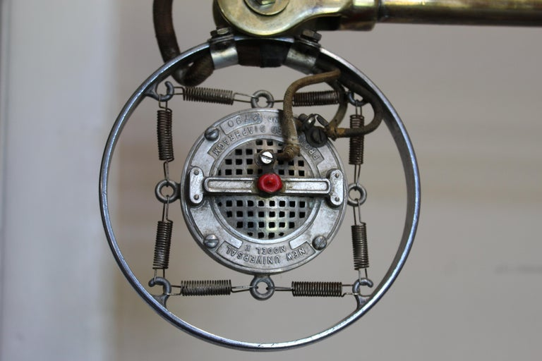 1920s Double Button Carbon Ring Microphone For Sale 1