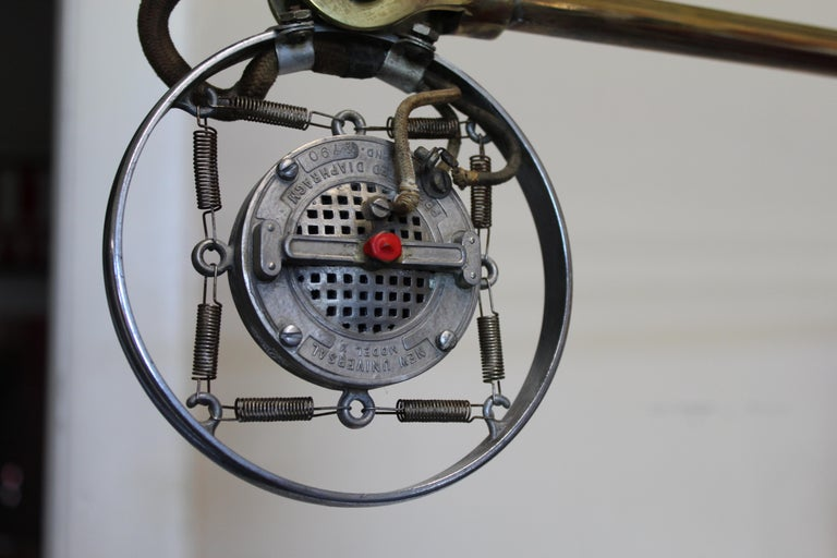 1920s Double Button Carbon Ring Microphone For Sale 3