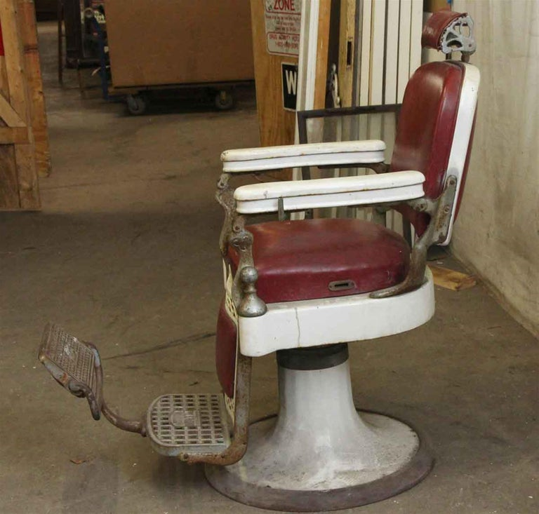 1920s Emil J Padair Barber Chair For Sale At 1stdibs