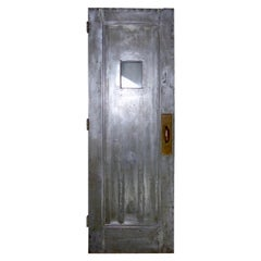 1920s Era Steel Doors with Brass Original Hardware