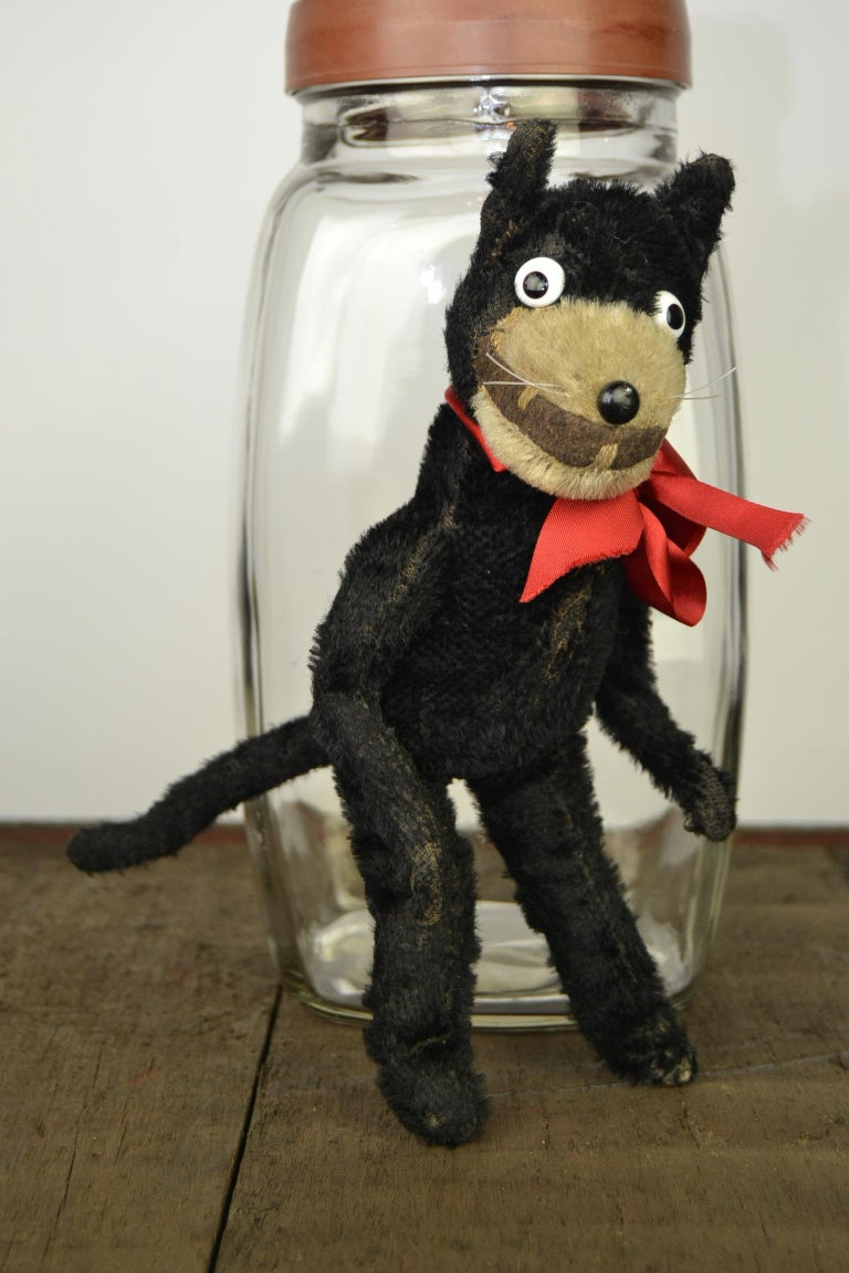 1920s Felix the Cat , Stuffed Mohair Children's Toy For Sale 7