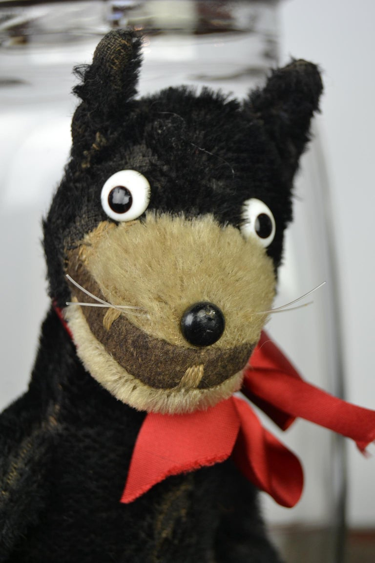 1920s Felix the Cat , Stuffed Mohair Children's Toy For Sale 8