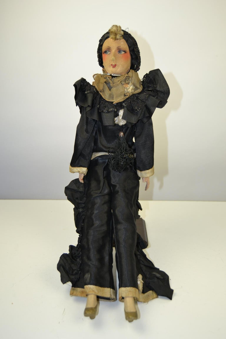 20th Century 1920s French Boudoir Dolls, Salon Dolls, Pierrot and Pierrette For Sale