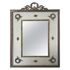 1920s French Brass Ormolu Classical Frame