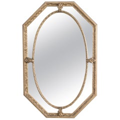 1920s French Mirror