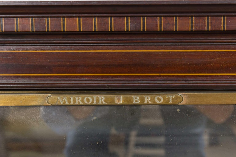 Art Deco 1920s French Triptych Vanity Dressing Mirror by Brot For Sale