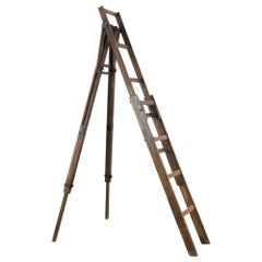 1920s French Wooden Ladder