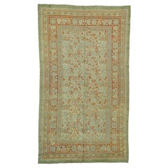"1920s Gallery Size Antique European Donegal Pure Wool Rug - 8'7""x14'9"""