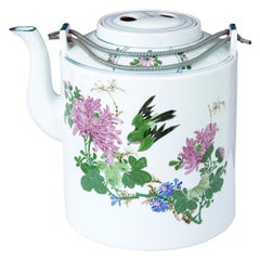 East Asian Serveware, Ceramics, Silver and Glass