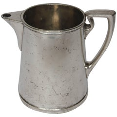 1920s Hotel Silver Pitcher, Reed and Barton for the University of Notre Dame